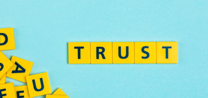 vertrouwen groeit in conflict